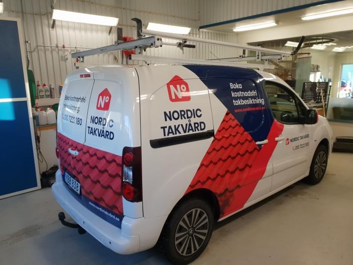 Nordic Takvård aloitti toimintansa Ruotsissa yhteistyössä LA Kattohuollon kanssa